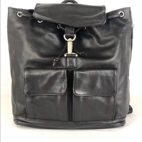 Kenneth Cole Handbags - Kenneth Cole leather backpack